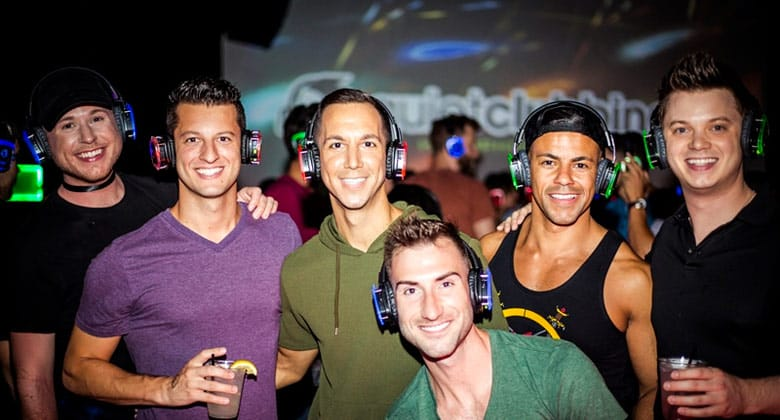 Quiet Clubbing and Silent Disco by Quiet Events