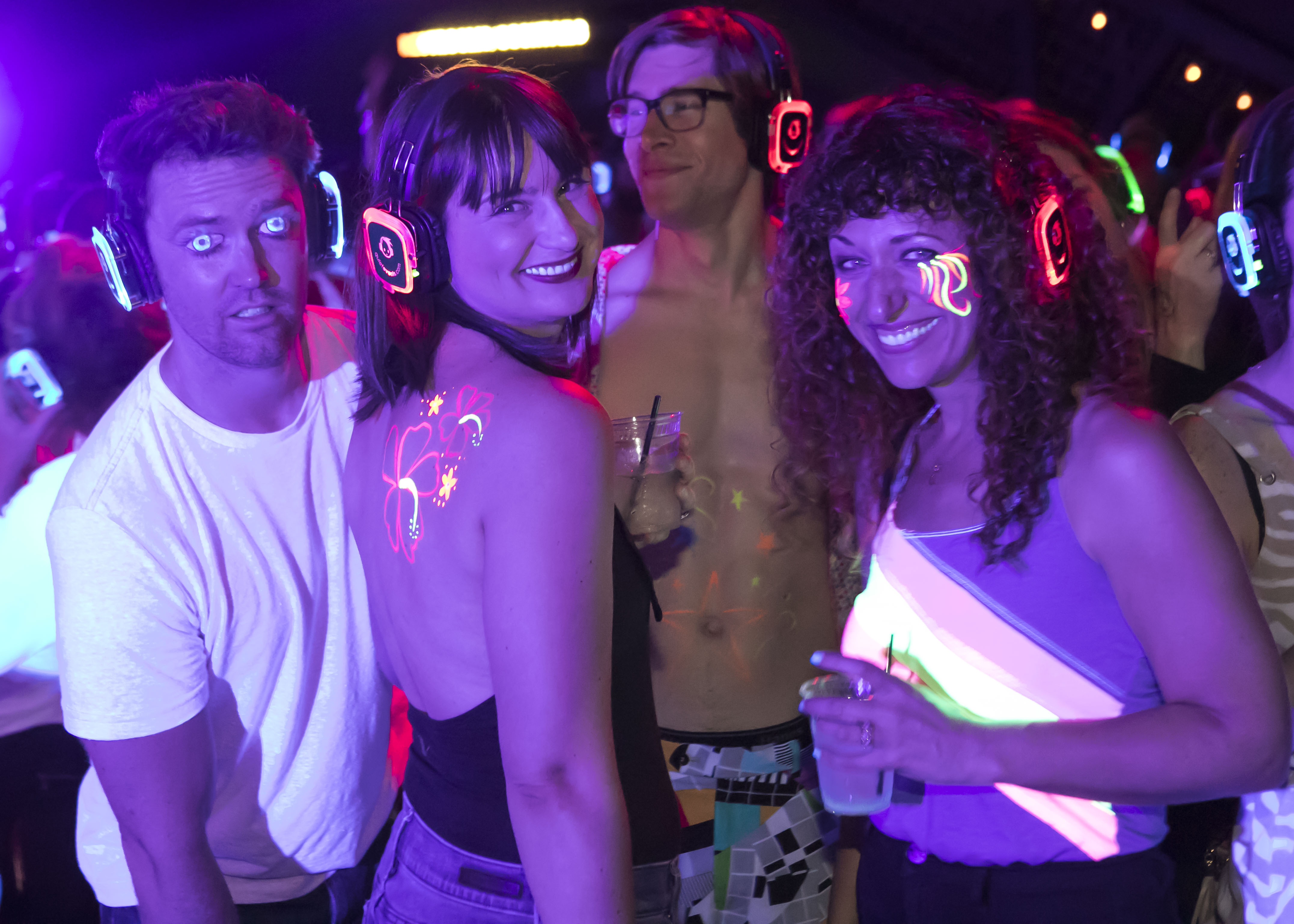 Experience A Glowfair Silent Disco Ten City Blocks Two Ses Live Bands And Dj Acts It