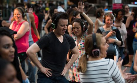 Wagner park silent disco party