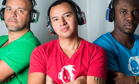 3 DJ's for uber battle